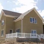 Использование облицовочного кирпича при строительстве домов