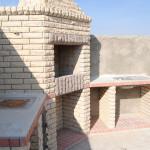 Уличный камин в облицовке использовался кирпич Крымского Кирпичного завода