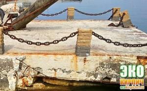 Облицовочный кирпич на берегу моря - под воздействием морской воды